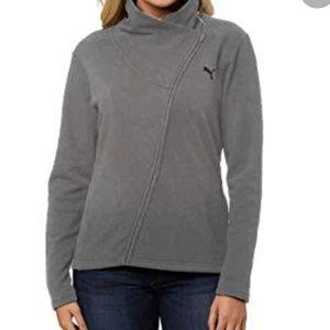Puma French Terry Asymmetrical Zip Jacket